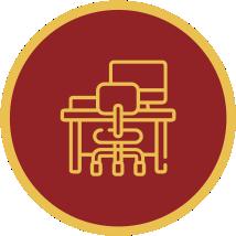 ícone espaço de trabalho