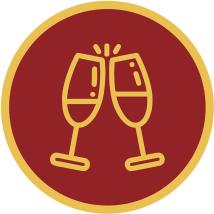 ícone salão de festas